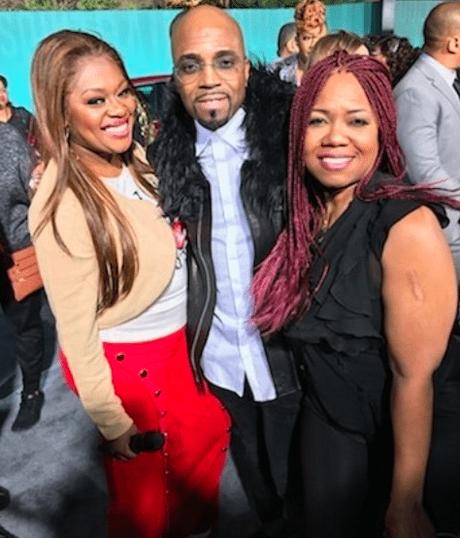 Check Out Neffeteria Pugh 'Neffe'  Working The Soul Train Awards Gray Carpet