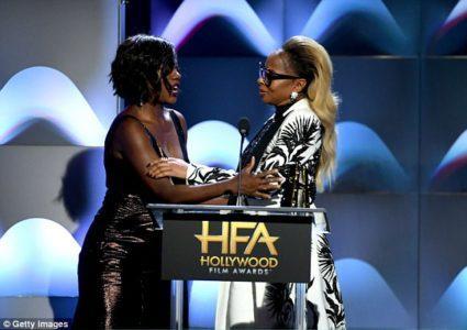 [PICS!] Mary J. Blige, Viola Davis, P. Diddy Hollywood Film Awards