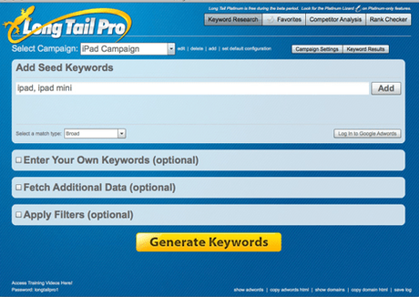 Long Tail Pro Exclusive 30% OFF Special Discount Coupon November 2017