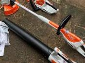 Product Review: Stihl Cordless Hedgetrimmer, Brushcutter Leaf Blower