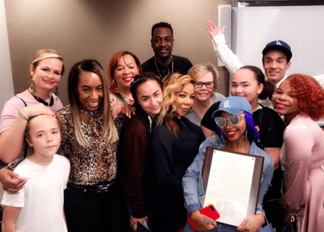 [Pics!] It Was 'Xscape Day' In Atlanta On Monday