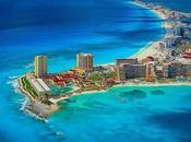 Week Beach Cancun Mexico