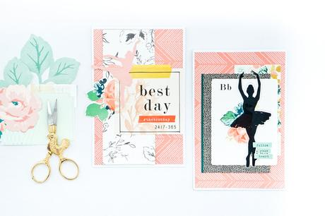 Crate Paper Design Team :  Ballet Cards