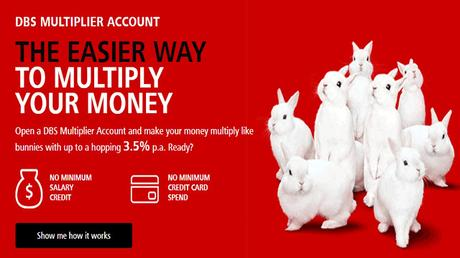 A New High Interest Savings Account To Multiply Your Money – The New DBS Multiplier Account