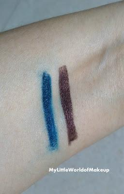 Plum Natur Studio All - Day - Wear Kohl Kajals in Gemstone Green & Uptown Brown Review & Swatches