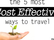 Most Cost Effective Ways Travel