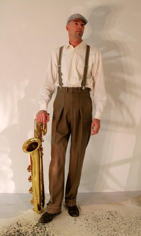 Flashback Friday to 1940s Men's Fashion
