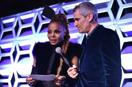 [PICS!]Janet Jackson Receives Music Icon Award At Out100 Gala