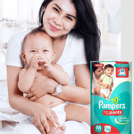 Babies need solid, uninterrupted sleep to be able to grow & develop. That is why happy babies love Pampers, since that is what offers them the best sleep!
