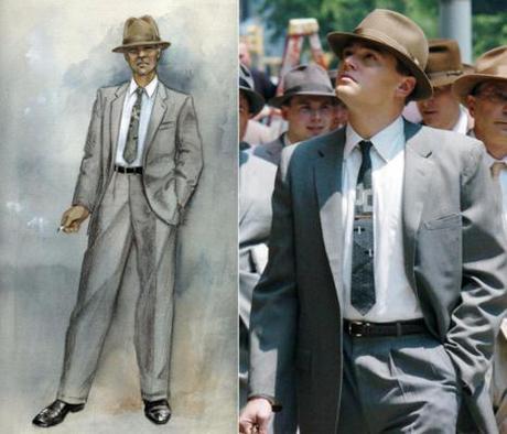 Revolutionary Road: Frank Wheeler's Gray Business Suit