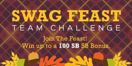 Image: Swagbucks is holding a Swag Feast Team Challenge to help you earn free gift cards!