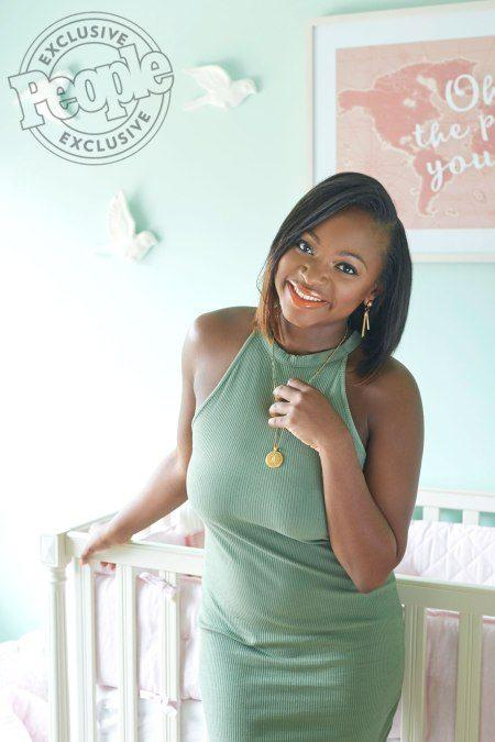 Pics: Naturi Naughton Daughter Zuri's Mint Green Nursery