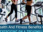Health Fitness Benefits Exercising Treadmill