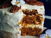 Eggless Carrot Cake Microwave