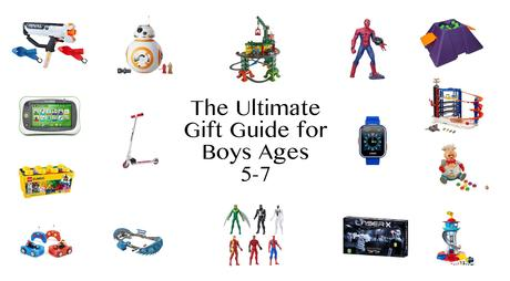 Not sure where to start when it comes to giving gifts? I've put together The Ultimate Gift Guide for 5-7 Year Old Boys