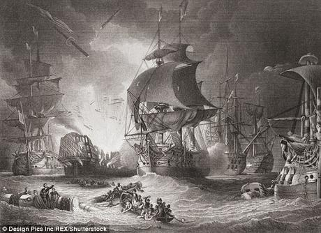 Nelson (in Cricket ~ Capetown Test) who conquered sea battles