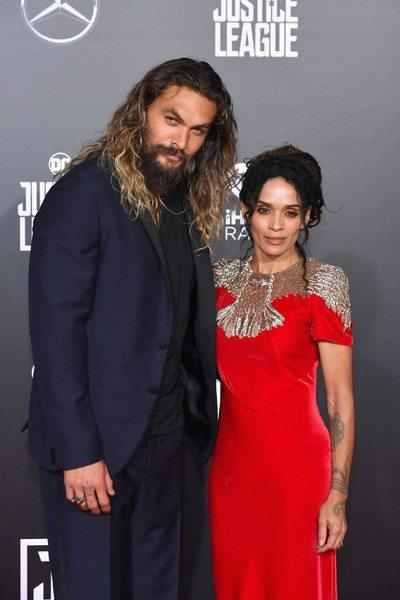 Jason Momoa & Lisa Bonet First Red Carpet As A Married Couple