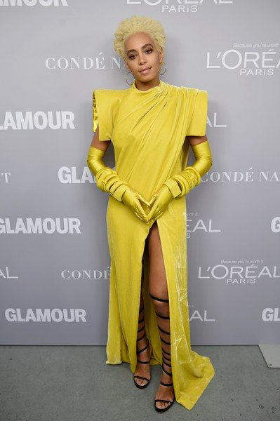 """Solange: """"My Journey Has Been A Rise and Fall"""" Glamour WOTY Speech"""