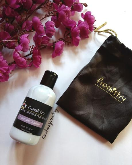 REVIEW : Customised Body Lotion from Freshistry.com - Lavender Amber