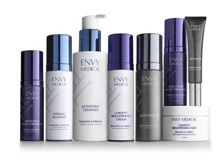 Envy Medical Introduces Transformative Skincare