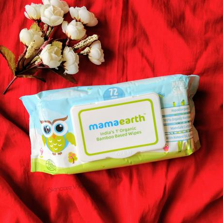 Mama Earth Wipes - India's First Organic Bamboo Based Baby Wipes
