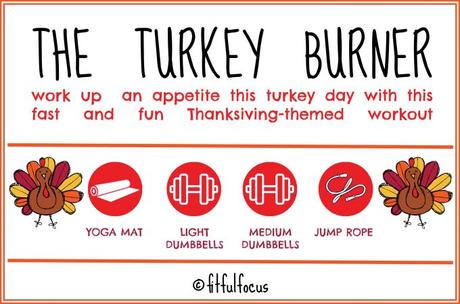 The Turkey Burner: a Thanksgiving-Themed Workout