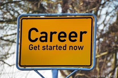 career-road-sign