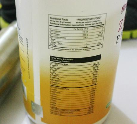 Zenith Nutrition Pure Whey Protein (Green Apple) Review
