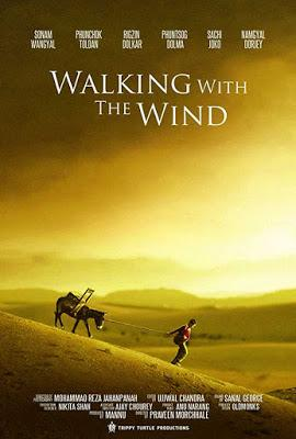 """214. Indian director Praveen Morchhales's film """"Walking with the Wind"""" (2017) (India) based on his own original screenplay: Recalling the cinematic footprints of the late Iranian maestro Abbas Kiarostami"""