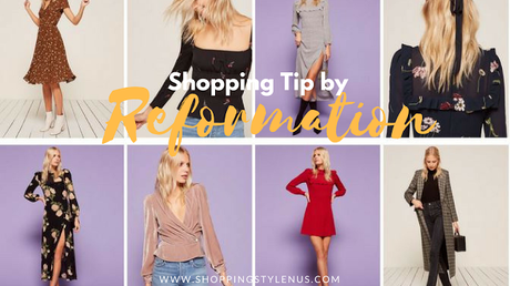 Shopping Tip by Reformation - Let them not buy what you buy!