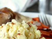 Smashed Potatoes with Boursin Garlic Fine Herbs Cheese