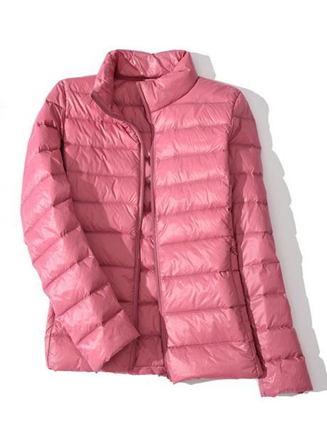 pink coat womens