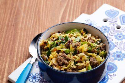 Keto Asian cabbage stir-fry