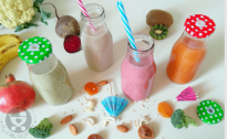 4 Kid-Friendly Fruit and Vegetable Smoothies