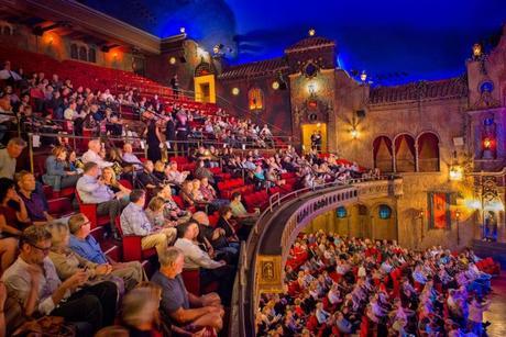 Tampa theater interiors  Courtesy of Tampa Theatre