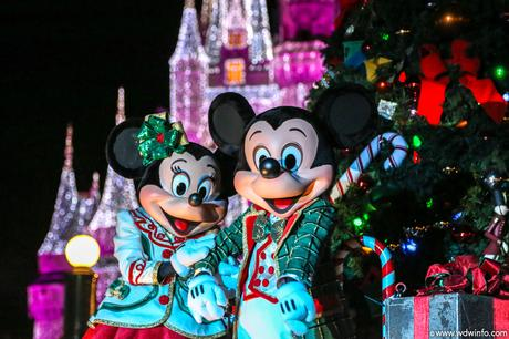 Image result for mickey mouse christmas magic kingdom