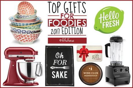Top Gifts for Foodies, 2017 Edition