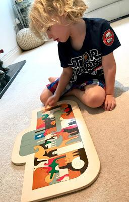 Hape's George Luck Ark Puzzle Review