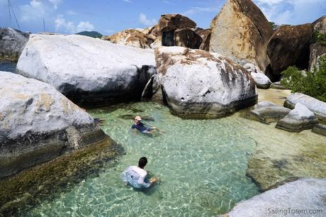 The Baths at Virgin Gorda BVIs