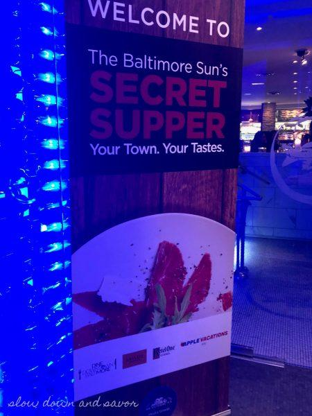The Baltimore Sun's Secret Supper at Ouzo Bay