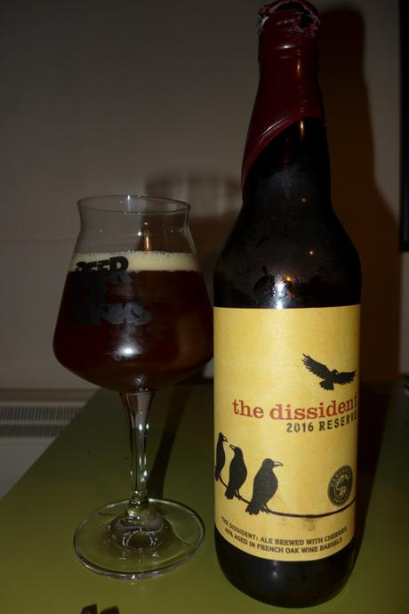 Tasting Notes:  Deschutes: The Dissident: 2016 Reserve