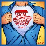 Local Comic Shop Day, November 18, 2017