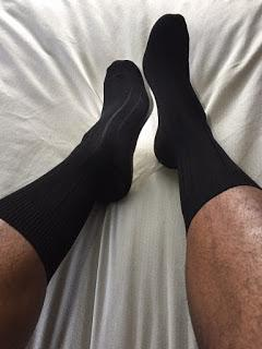 Festive Feet For The Holidays:  Blacksocks