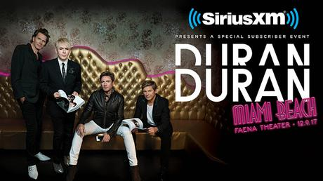 Duran Duran to Perform Special Concert in Miami Beach - Poster