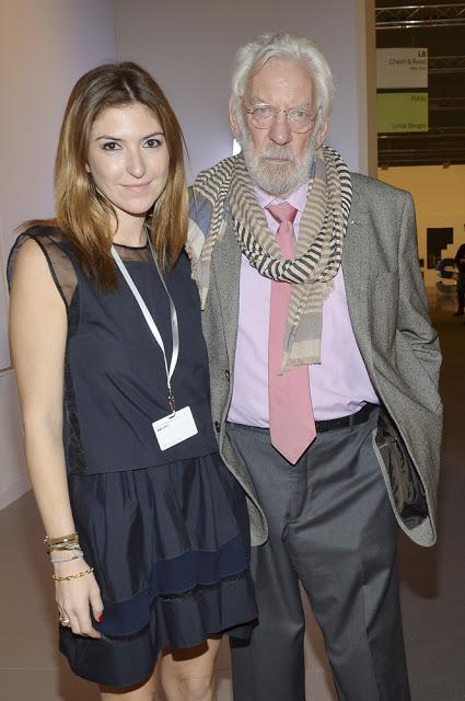 Donald Sutherland at the 2014 Art Basel Miami Beach
