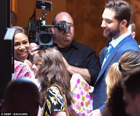 Newlyweds Serena Williams & Alexis Ohanian Host Day After Wedding Brunch