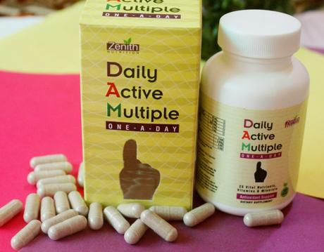 Zenith Nutrition Daily Active Multiple One A Day Review
