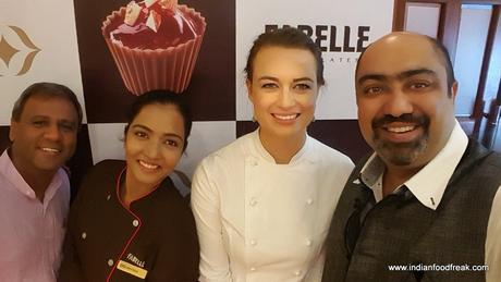 MasterChef Billie Mckay Teaches Art of Chocolate at Fabelle