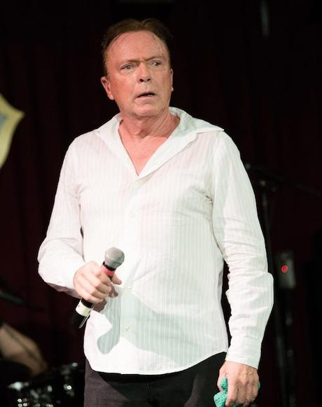 David Cassidy performs a sold out show at B.B. King Blues Club & Grill despite feeling unwell with Laryngitis