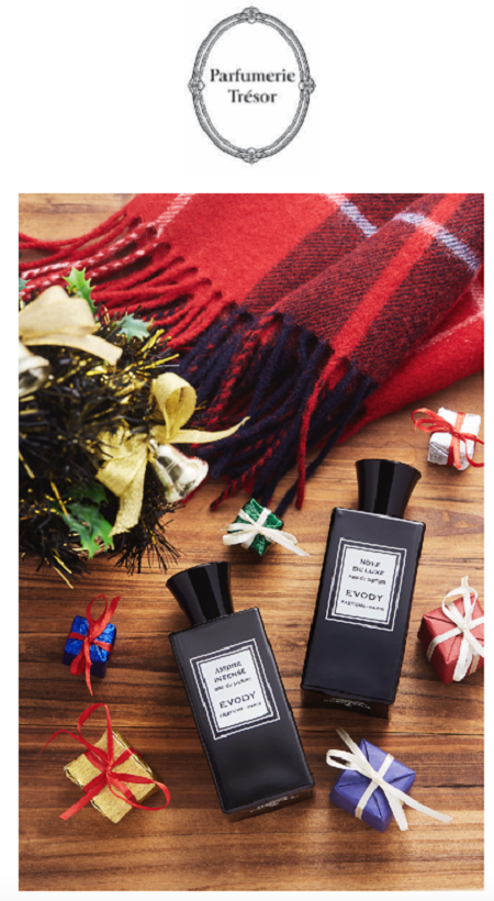 Scented Christmas Moments from Parfumerie Trésor